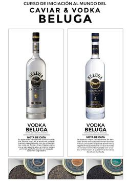 Curso de iniciación al mundo del Caviar y Vodka, Beluga
