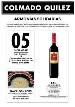 05 Diciembre CATAS SOLIDARIAS