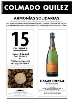 15 Diciembre CATAS SOLIDARIAS