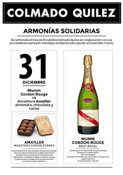 31 Diciembre CATAS SOLIDARIAS